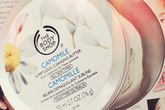 Product empties: The Body Shop Camomile Sumptuous Cleansing Butter