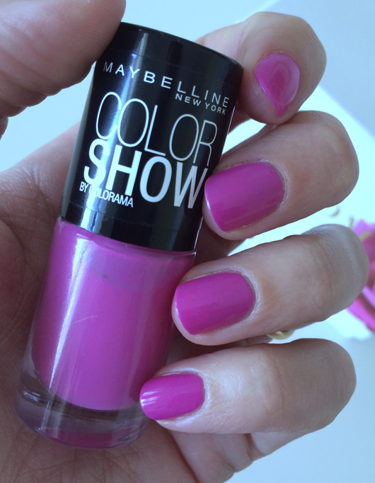 "Maybelline Color Show ""So Chic Pink"" - All Dolled Up"