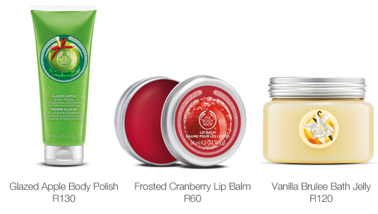 3 for 2: The Body Shop