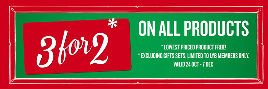3 for 2 at The Body Shop | All Dolled Up