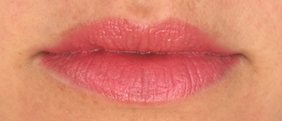 "Revlon Ultra HD Lipstick in ""Rose"" swatch 